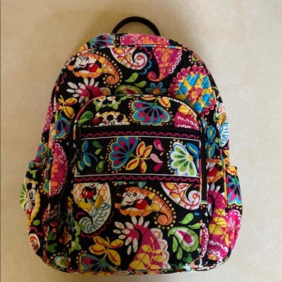 Disney Parks Vera Bradley Mickey campus backpack